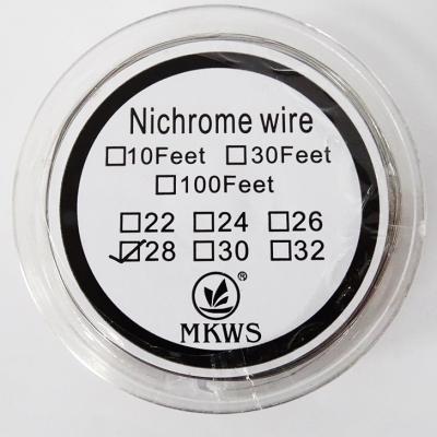 Ellenálláshuzal Nichrome AWG 28
