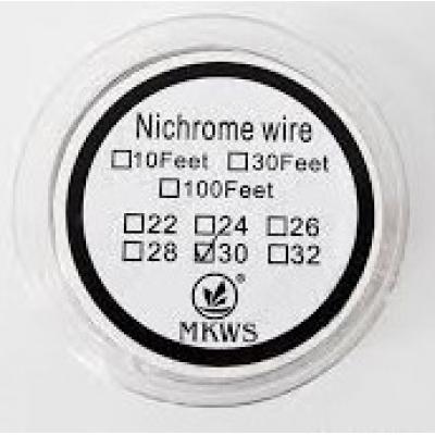 Ellenálláshuzal Nichrome AWG 30