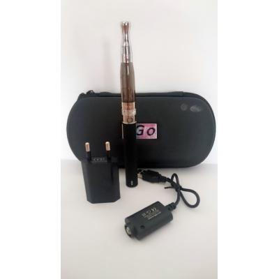 Szimpla elektromos cigaretta készlet (1100 mAh) Aspire BVC porlasztóval és tokkal (fekete)