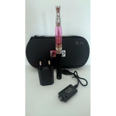Szimpla elektromos cigaretta készlet (1100 mAh) Aspire BVC porlasztóval és tokkal (rózsaszín)