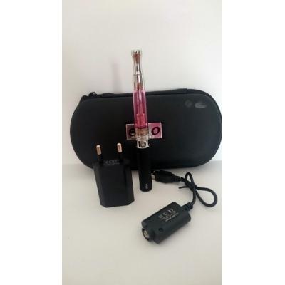 Szimpla elektromos cigaretta készlet (650 mAh) Aspire BVC porlasztóval és tokkal (rózsaszín)