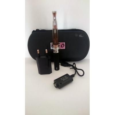 Szimpla elektromos cigaretta készlet (650 mAh) Aspire BVC porlasztóval és tokkal (fekete)