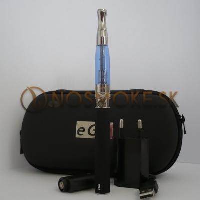 Szimpla elektromos cigaretta készlet (1100 mAh) Aspire BVC porlasztóval és tokkal (kék)