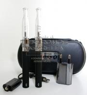Dupla elektromos cigaretta készlet ( 1100 mAh) H2 (alsó kazános) porlasztóval